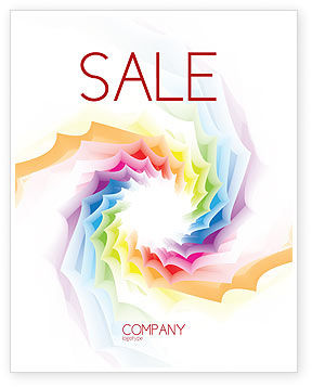 Design Materials Sale Poster Template, 07596, Abstract/Textures — PoweredTemplate.com