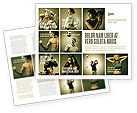 People: Sport Activities Brochure Template #07597