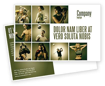 People: Modello Cartolina - Attività sportive #07597