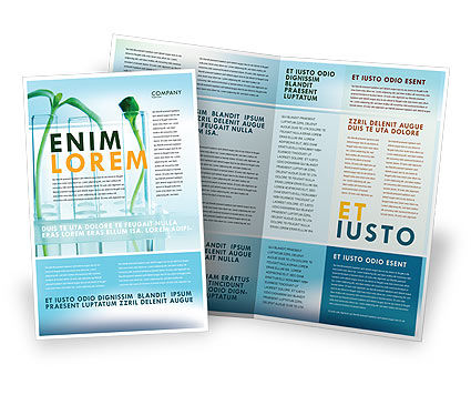 science brochure template - technology science computers brochure templates design