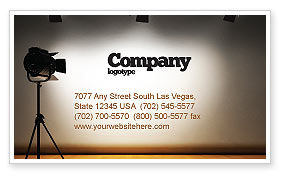 Careers/Industry: Photo Studio Business Card Template #07606