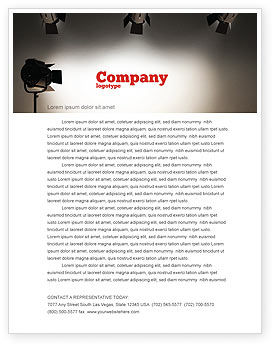 Photo Studio Letterhead Template, 07606, Careers/Industry — PoweredTemplate.com