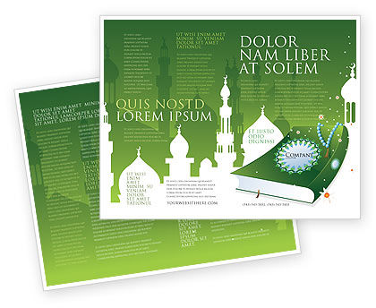 Coran Brochure Template Design And Layout Download Now