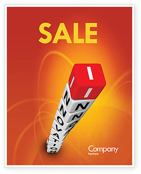 Business Concepts: Innovations Tower Sale Poster Template #07670