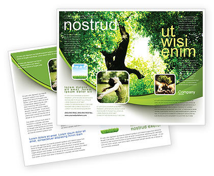 High Tree Brochure Template