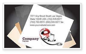 Business: Medical Care Of The World Business Card Template #07711