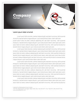 Business: Medical Care Of The World Letterhead Template #07711