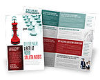 Education & Training: Chess King Klaar Om Te Vechten Brochure Template #07712