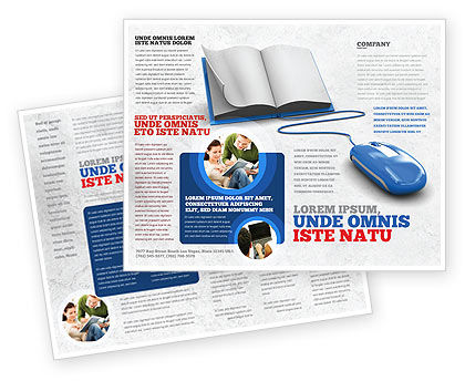 Education & Training: Electronic Book Brochure Template #07746