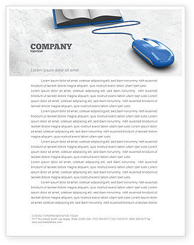 Education & Training: Electronic Book Letterhead Template #07746