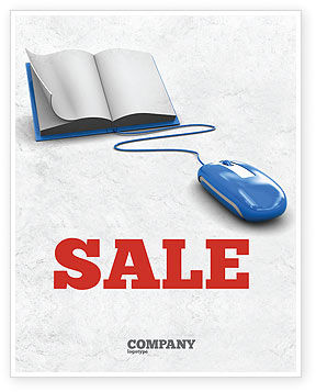 Education & Training: Electronic Book Sale Poster Template #07746