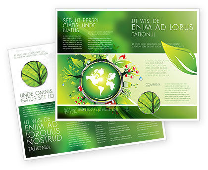 Blooming Earth Concept Brochure Template