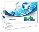 Technology, Science & Computers: Modello Cartolina - Concetto di internet #07768