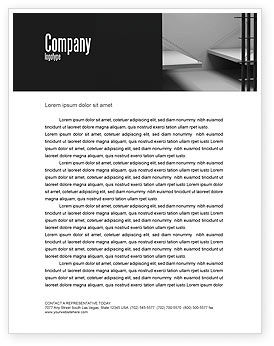 Prison Cell Letterhead Template, 07771, Legal — PoweredTemplate.com