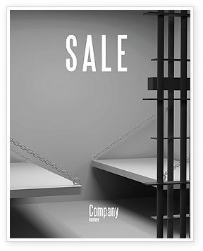 Legal: Prison Cell Sale Poster Template #07771