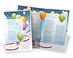 Holiday/Special Occasion: Greeting Card Brochure Template #07775
