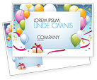 Holiday/Special Occasion: Greeting Card Postcard Template #07775