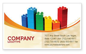 Consulting: Lego World Business Card Template #07788