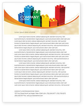 Consulting: Lego World Letterhead Template #07788