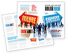Education & Training: Falen En Succes Brochure Template #07789