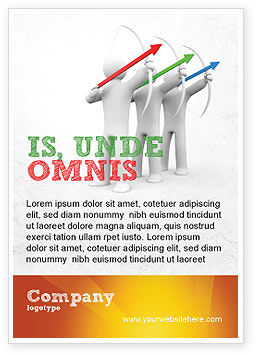 Business Concepts: Archers Advertentie Template #07800