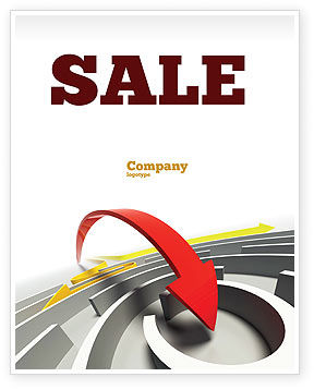 Consulting: Breakthrough Solution Sale Poster Template #07801