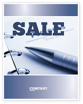 Project Description Sale Poster Template, 07802, Business Concepts — PoweredTemplate.com