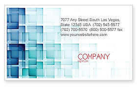 Abstract/Textures: Abstract Geometric Pattern Business Card Template #07804
