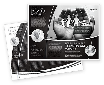 Medical: Concern For The Family Brochure Template #07896