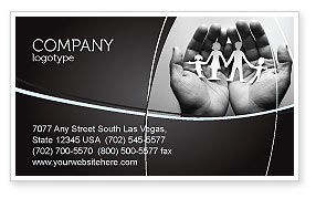 Medical: Concern For The Family Business Card Template #07896