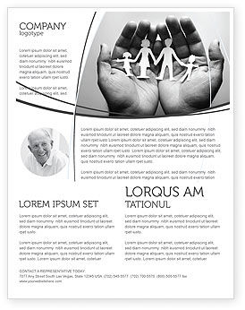 Medical: Concern For The Family Flyer Template #07896