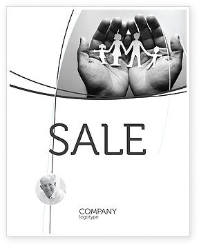 Concern For The Family Sale Poster Template, 07896, Medical — PoweredTemplate.com