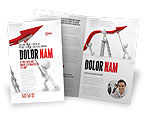 Consulting: Keeping High Performance Brochure Template #07898