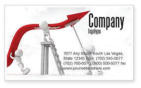 Consulting: 保持高性能名片模板 #07898