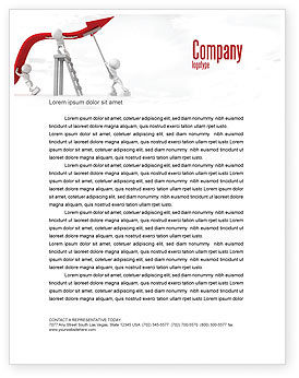 Consulting: Keeping High Performance Letterhead Template #07898