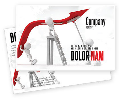 Keeping High Performance Postcard Template, 07898, Consulting — PoweredTemplate.com