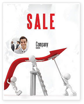Consulting: Keeping High Performance Sale Poster Template #07898