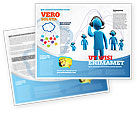 Telecommunication: Wireless Community Brochure Template #07910