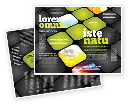 Lighted Path Brochure Template