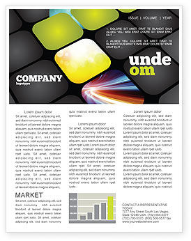 Business: Lighted Path Newsletter Template #07916