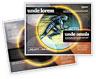 Sports: Running Iron Man Brochure Template #07928