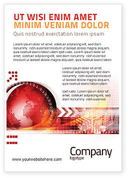 Global: Wereld Thema Advertentie Template #08027