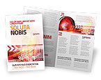 Global: Wereld Thema Brochure Template #08027