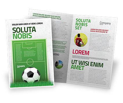 Sports: 欧洲足球场宣传册模板 #08032