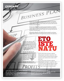 Consulting: Business Plan Analysis Flyer Template #08068