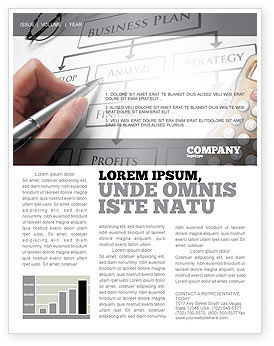 Consulting: Business Plan Analysis Newsletter Template #08068