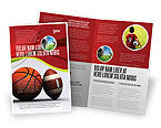Sports: Sport Balls Brochure Template #08071