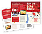 Careers/Industry: Road Map Brochure Template #08109