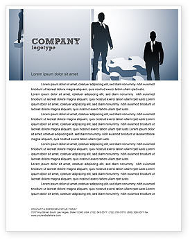Careers/Industry: Career Stages Letterhead Template #08120