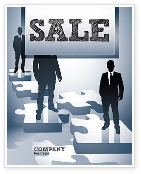 Career Stages Sale Poster Template, 08120, Careers/Industry — PoweredTemplate.com
